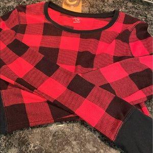 Old Navy waffle knit shirt